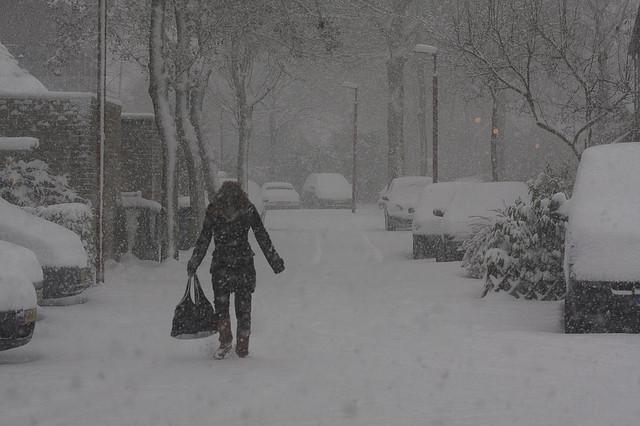 Photo of Vandaag de dag in 2005 – Zware sneeuwstorm