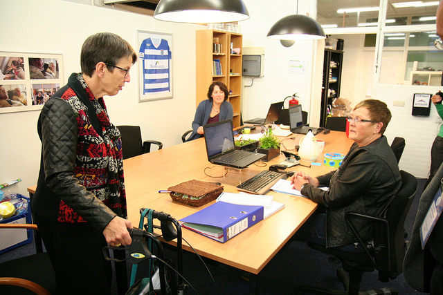 Foto: ©Ward Oranje - Staatssecretaris Klijnsma, sociale zaken en werkgelegenheid,