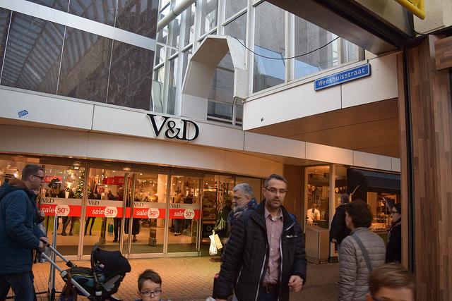V&D pand in Zwolle. Foto: ©Joey Bisschop voor RTV Focus Zwolle