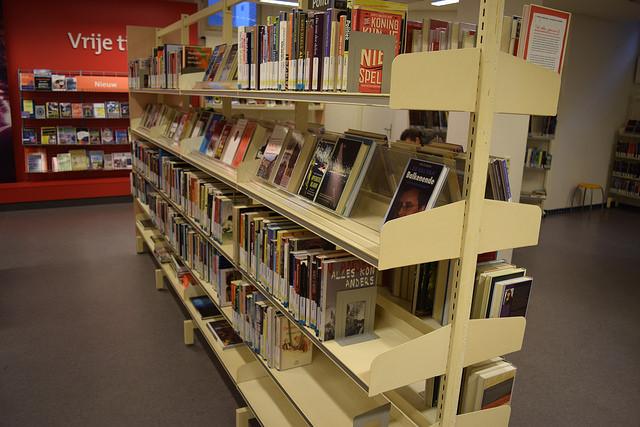 Photo of Bibliotheek voor meer dan de helft leeg