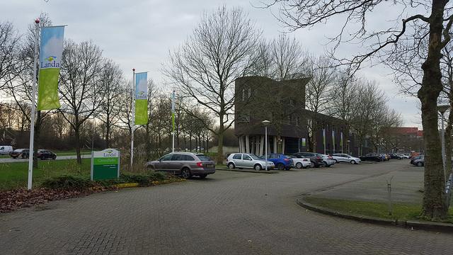 De vestiging van Landal aan de Hanzelaan in Zwolle