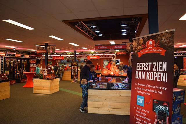 Photo of Vuurwerk bestellen vanaf LCD scherm op de Marslanden in Zwolle
