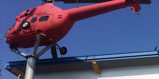 Helikopter Dinoland Zwolle