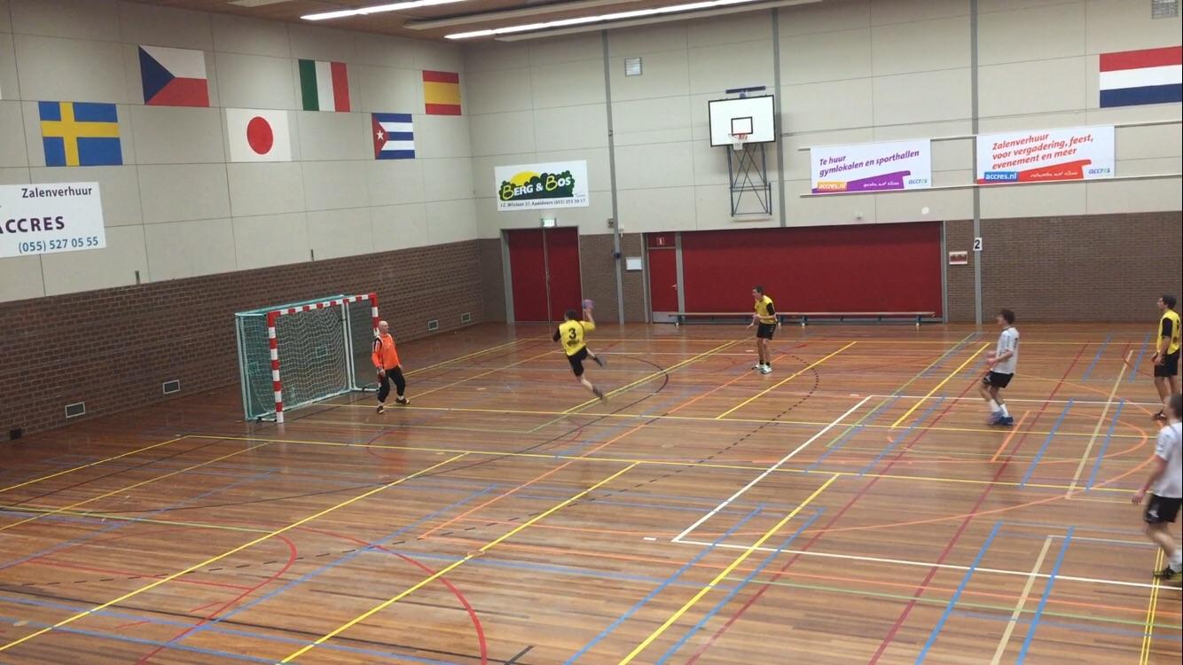 Photo of Handbal – Zwolse handballers spelen gelijk tegen AHV Achilles