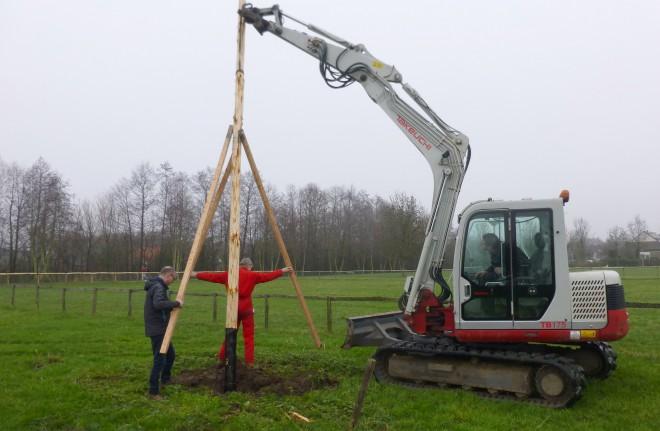 Photo of Ooievaarsnest Schellerhoeve Zwolle Zuid vervangen