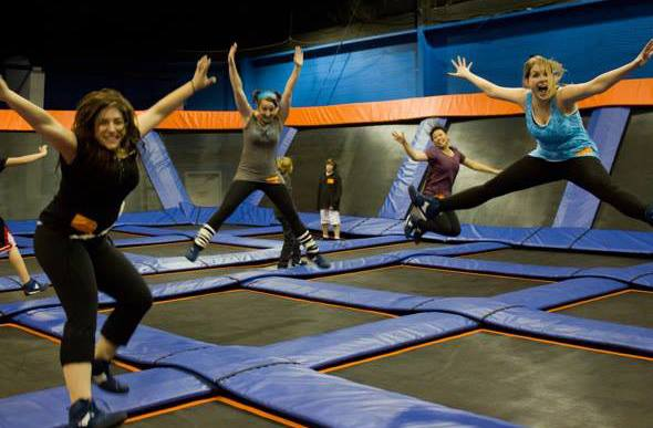 vier kante trampoline