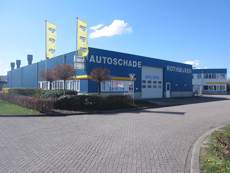 Photo of Schadenet Rothuijsen Zwolle naar Van Mossel Autoschade Groep