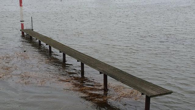 Hoogwater op de IJssel