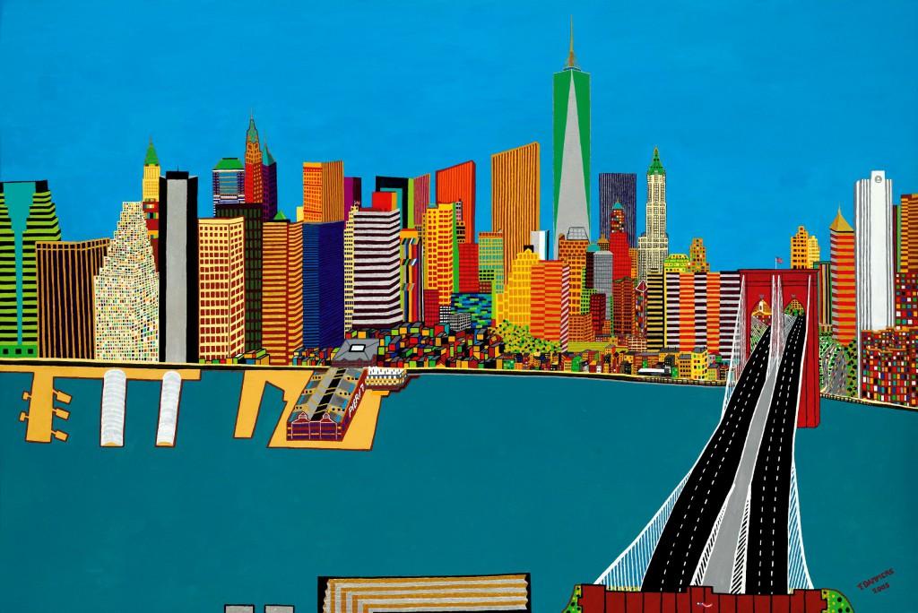 Photo of Schilderij van Zwolse kunstenaar naar  9/11 Memorial & Museum New York