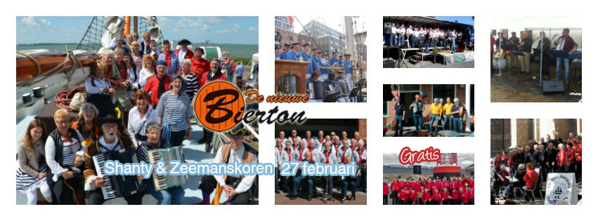 Photo of Shanty en Zeemanskoren treffen elkaar bij De Nieuwe Bierton – 27 februari