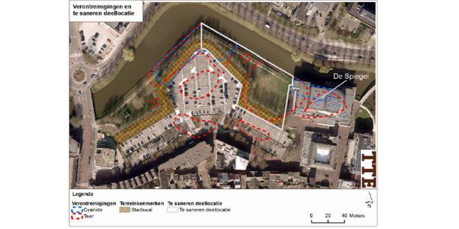 Gasfabriek verontreiningen Noordereiland gebied Zwolle