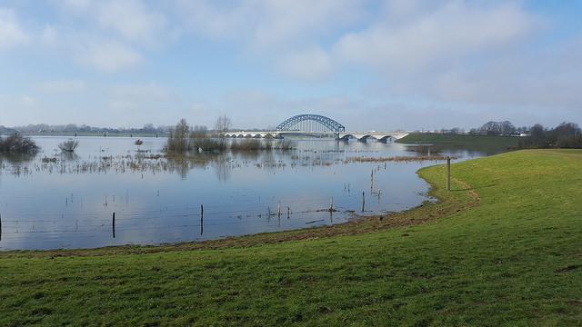 Photo of Fietstocht naar Katerveer en de rode Hanzeboogbrug met IVN Zwolle