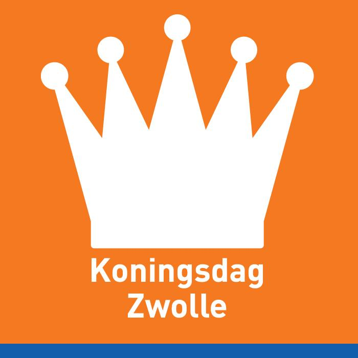 Photo of Officiële logo en banner voor Koningsdag bekend