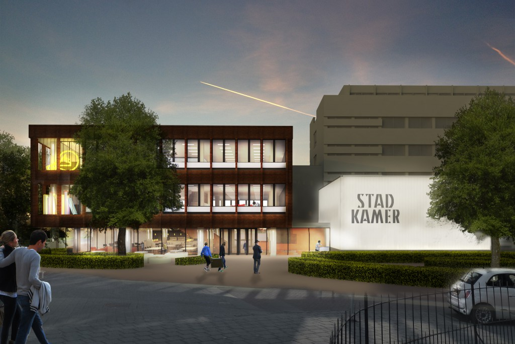 Stadkamer ontwerp JHK architecten