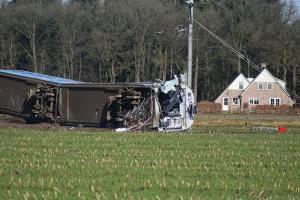 Ongeval trein Arriva Dalfsen ©Joey Bisschop voor RTV Focus Zwolle