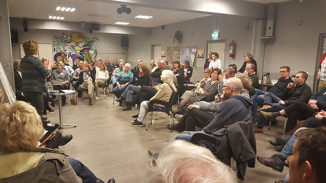 Photo of Samenstelling bewoners AZC en veiligheid onderwerp informatiebijeenkomst Wipstrik Zuid