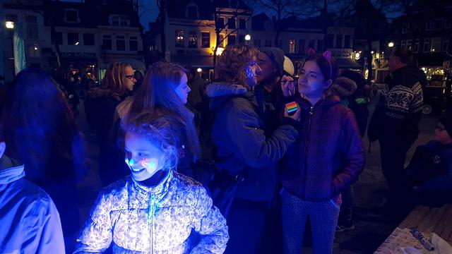 Earth Hour Zwolle 2016 - Grote Kerkplein
