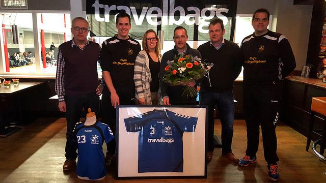 Photo of Travelbags nieuwe sponsor Handbal Vereniging Zwolle
