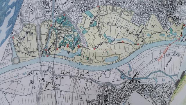 Het gebied Buurtschap IJsselzone op de kaart