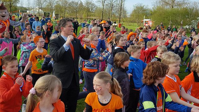 Photo of Zonnige en sportieve Koningsspelen in Zwolle