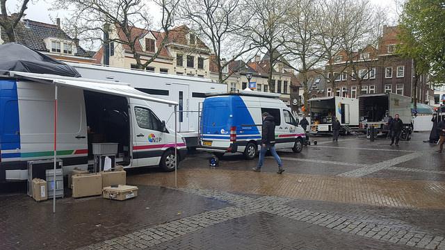 Mediapark TV en radio zenders Grote Kerkplein