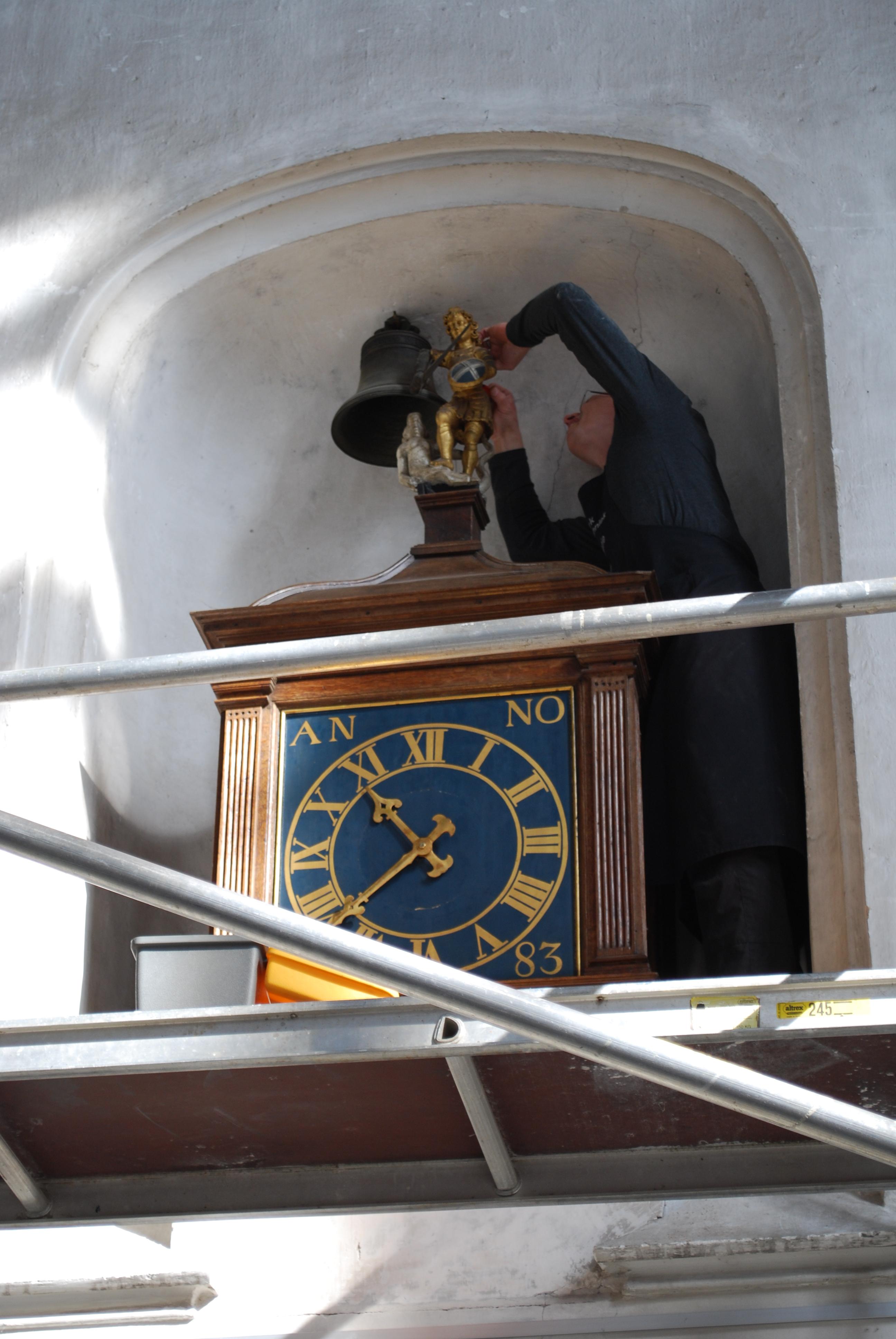 Photo of De klok in de Grote Kerk is weer terug