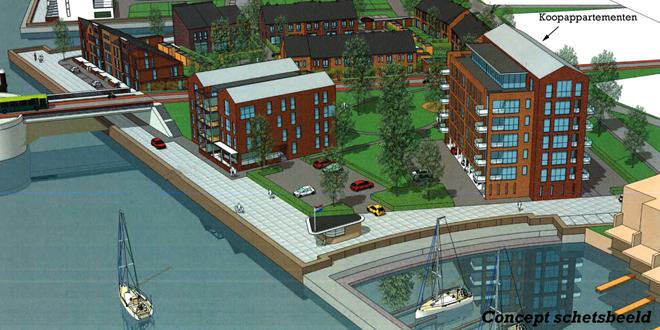 Photo of Nieuwe appartementen bij het Zwarte Water in Zwolle