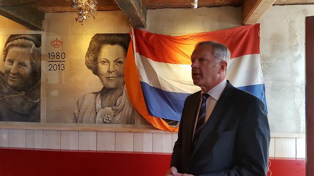 Photo of Koninklijke fresco galerij bij Holland Pannenkoeken Thorbeckegracht