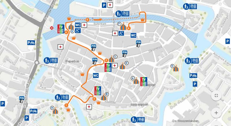 Photo of Programmaboekje Koningsdag Zwolle online en op papier