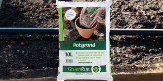 Kuipplanten verplanten in verse potgrond en/of bemesten met een goede organische meststof.