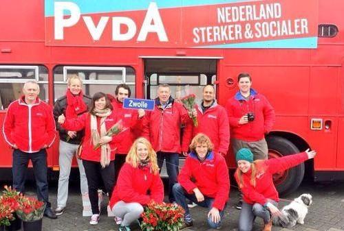 Photo of PvdA Zwolle naar de Wipstrik en Berkum