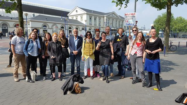 Photo of Van Athene tot Zwolle, stadmakers uit heel Europa bezochten Zwolle