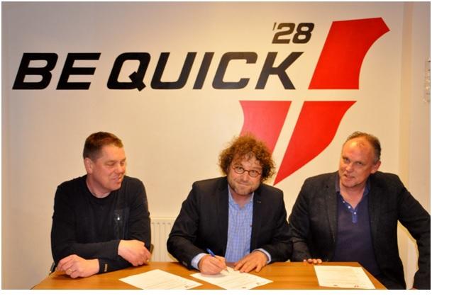 Photo of Nieuwe sponsor zomertoernooi Be Quick
