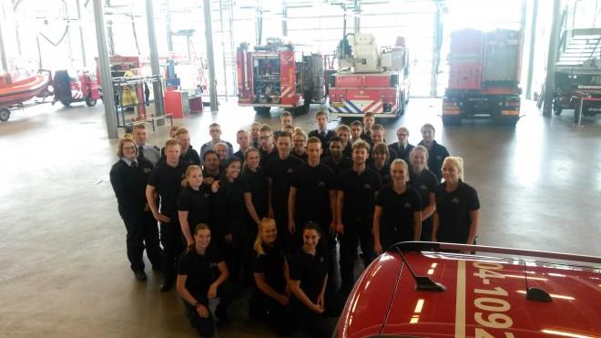 Photo of Brandweer Zwolle geeft beveiligingsstudenten instructies