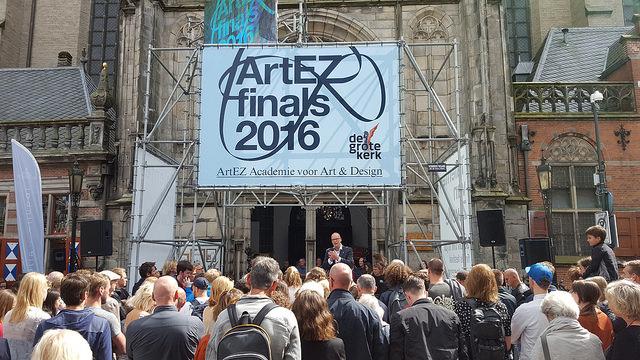 Photo of ArtEZ finals eindexamenexpositie onder grote belangstelling geopend