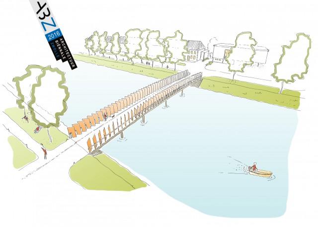Photo of Zwolle krijgt een week lang een onzichtbare extra brug