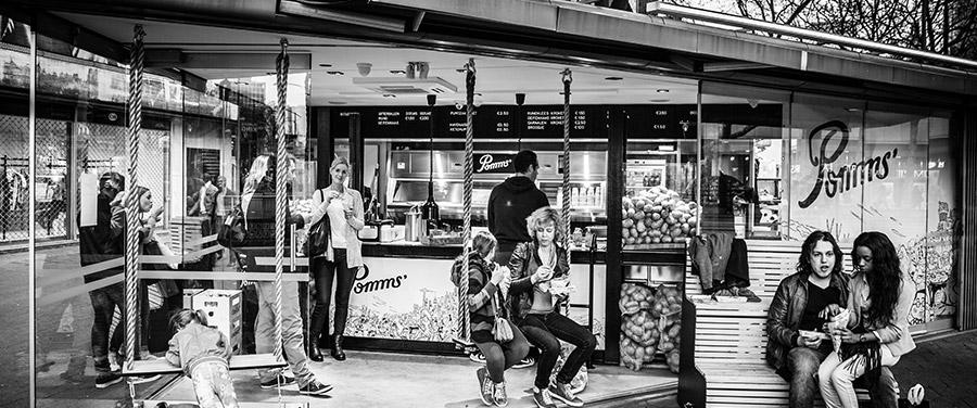 Foto: Eigen foto Pomm's winkel Rotterdam
