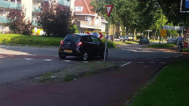Photo of Meppelerstraatweg en Bankastraat comfortabeler voor fietsers, start werkzaamheden na zomervakantie