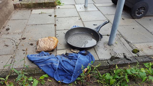 Photo of Vlam in de pan in woning de Pierik