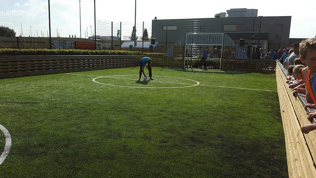 Photo of Nieuw PannaSUTU speelveld geopend bij CSV'28 in Stadshagen