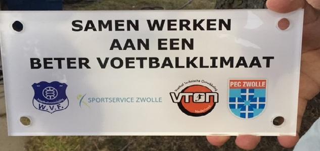 Photo of Samenwerken aan een beter voetbalklimaat in Zwolle