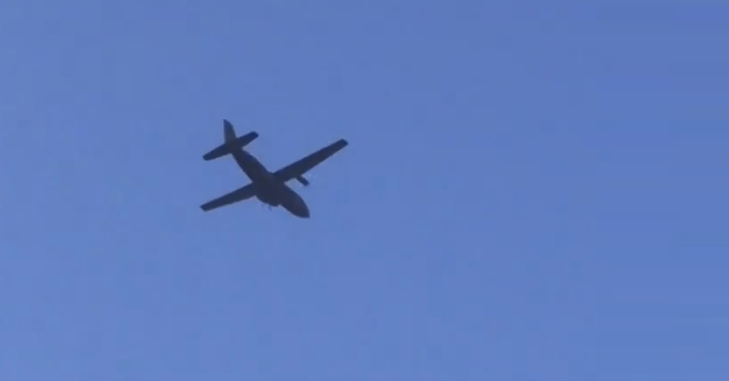 Photo of Zware transportvliegtuigen over Zwolle voor Market Garden herdenking