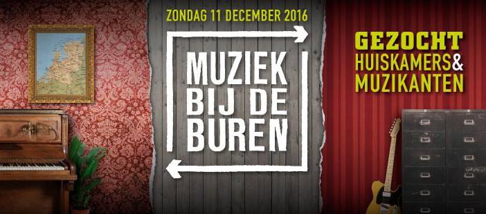 Photo of Huiskamerfestival Muziek bij de Buren terug in Zwolle!