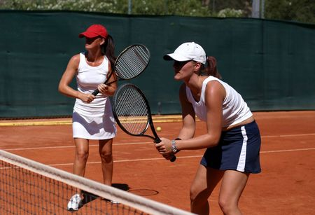 Photo of Zwols tennisfeest in volle gang