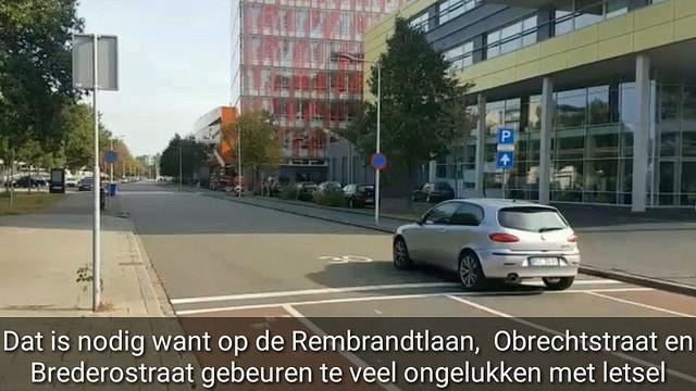 Photo of Veiligheid 30 km zones Rembrandtlaan, Obrechtstraat en Brederostraat wordt verbeterd