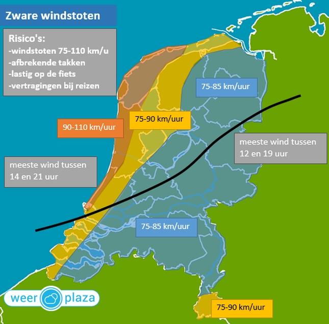 Bron: Weerplaza.nl