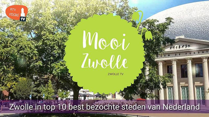Photo of Zwolle op plek 7 van toeristisch best bezochte steden; snelste stijger