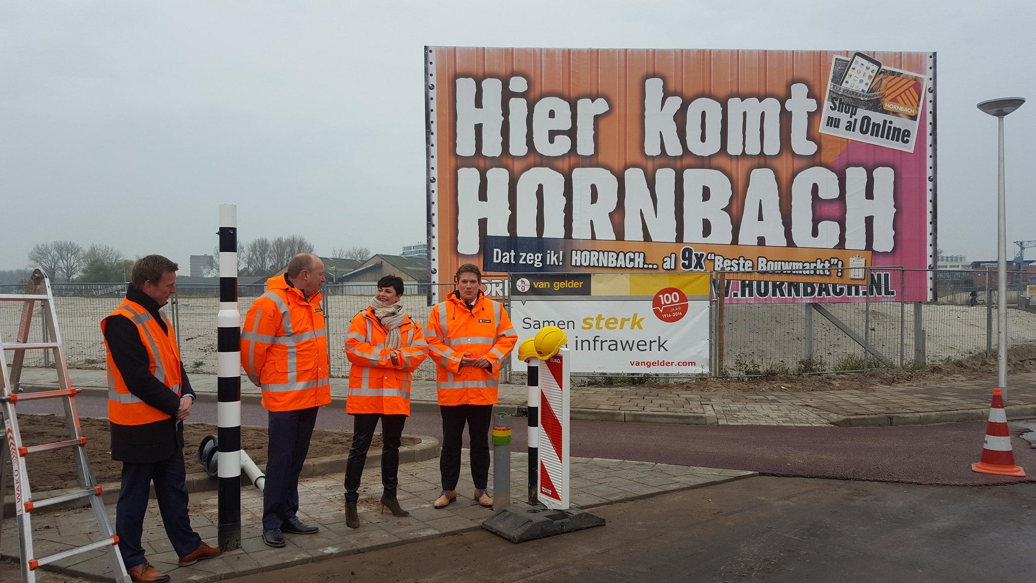 Photo of Nieuwe Hornbach Zwolle met aangepaste kruising straks goed bereikbaar