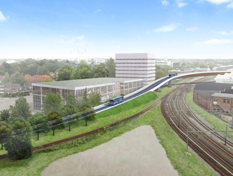 Photo of Dit wordt de nieuwe busbrug over het spoor van Zwolle