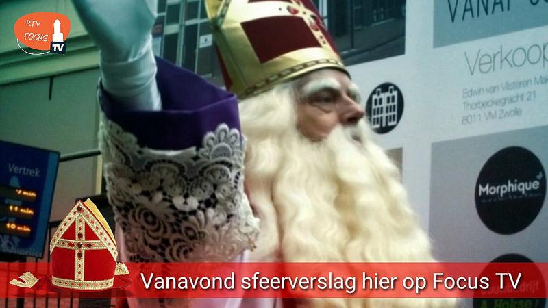 Photo of TV-verslag Sinterklaasintocht Zwolle vanavond hier te zien